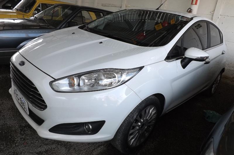 Ford Fiesta TITANIUM 1.6 16V Flex Mec.
